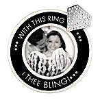 "Grasslands Road® ""With this Ring"" Picture Frame in Black"