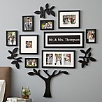 WallVerbs™ 13-Piece  Mr. & Mrs.  Tree Set in Black