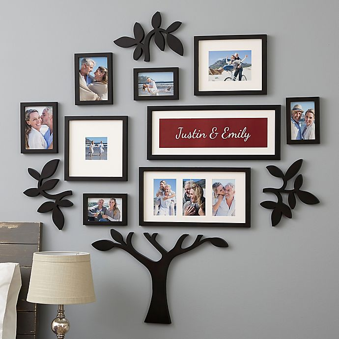 Alternate image 1 for WallVerbs™ 13-Piece Couples Personalized Tree Set
