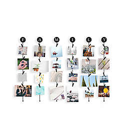 Umbra 24-Photo Plastic Family FotoClip in Black