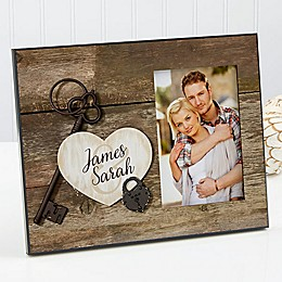 Key To My Heart Picture Frame