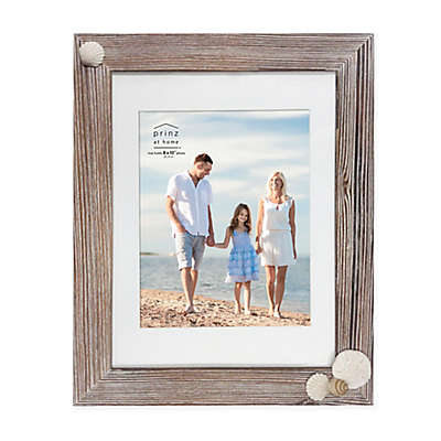 Prinz Coastal Shell 8-Inch x 10-Inch Picture Frame in Natural