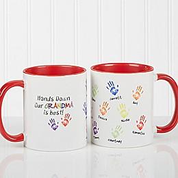 Hands Down Coffee Mug