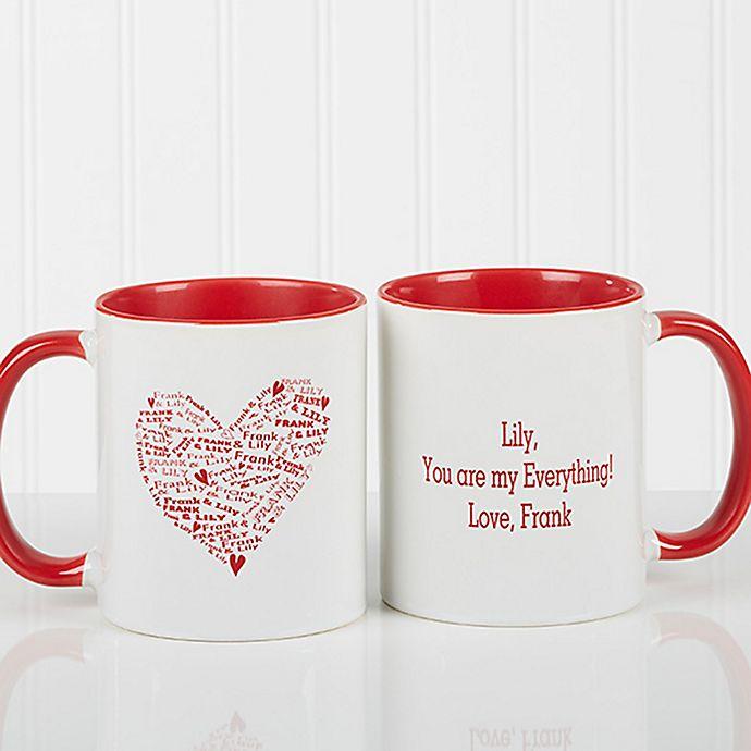 Alternate image 1 for Heart of Love Coffee Mug