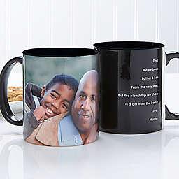 Photo Sentiments For Him Mug