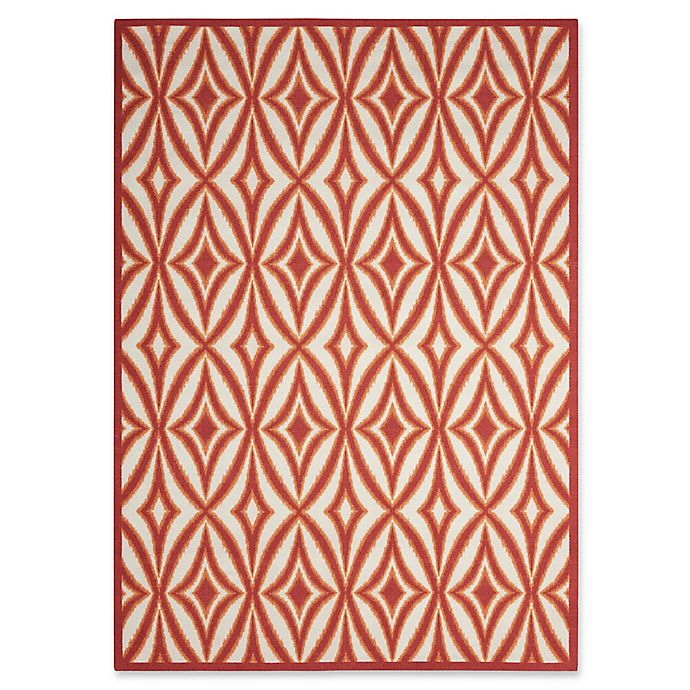 Alternate image 1 for Nourison Sun and Shade Indoor/Outdoor Power-Loomed Rug