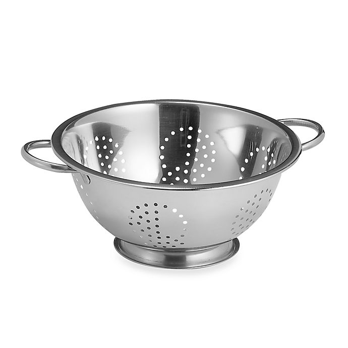 Alternate image 1 for SALT™ Stainless Steel 5 qt. Colander