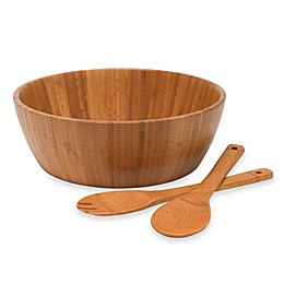 3-Piece Wooden Salad Serving Set