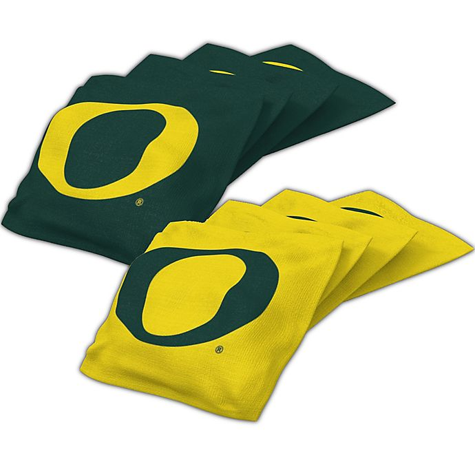 Amazing University Of Oregon Regulation Cornhole Bean Bags Set Of 4 Gmtry Best Dining Table And Chair Ideas Images Gmtryco