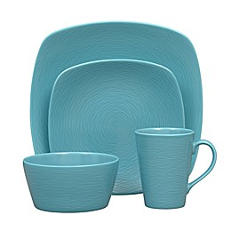 Noritake® Turquoise on Turquoise Swirl Coupe Dinnerware Collection