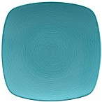 Noritake® Turquoise on Turquoise Swirl 11.75-Inch Square Platter