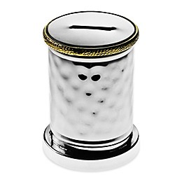 Classic Touch Tervy Charity Box with Gold Trim