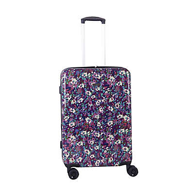 Isaac Mizrahi Harley 8-Wheel Hardside Spinner Checked Luggage