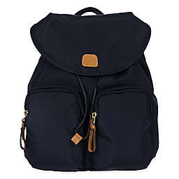 Bric's X-Travel 10.5-Inch City Backpack in Navy