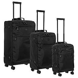 Bric's X-Travel Spinner Luggage in Black