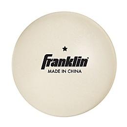 Franklin® Sports 40mm 1-Star Table Tennis Balls (Set of 36)