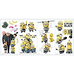 RoomMates® Despicable Me 3 Peel and Stick Wall Decals (Set of 17)