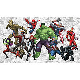 RoomMates® Marvel® Hero XL Chair Rail Pre-Pasted Mural