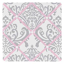 Sweet Jojo Designs Elizabeth Memo Board in Pink/Grey