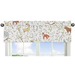 Sweet Jojo Designs Woodland Toile Animal Print Window Valance