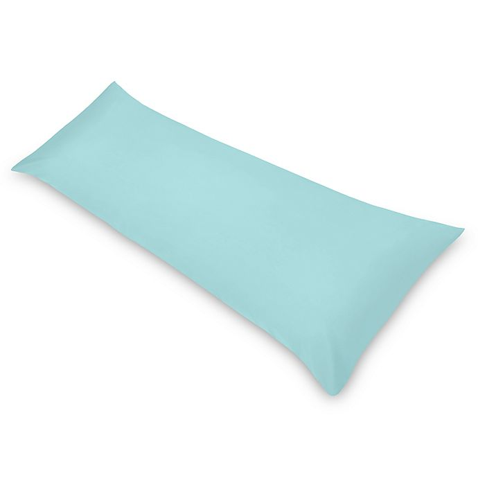 Alternate image 1 for Sweet Jojo Designs® Body Pillowcase in Turquoise