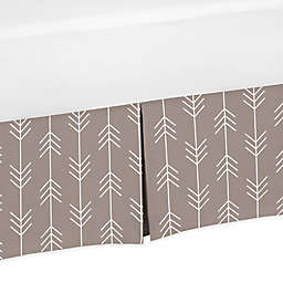 Sweet Jojo Designs® Outdoor Adventure Arrow Print Crib Skirt