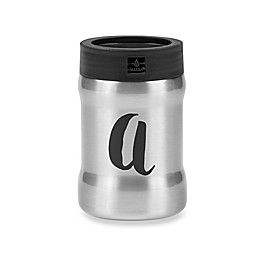 Manna™ Renegade Monogram Letter Double Wall Drink Koozie