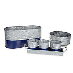 Galvanized Steel Serving Collection