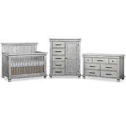 Soho Baby Hampton Nursery Furniture Collection in Stonewash