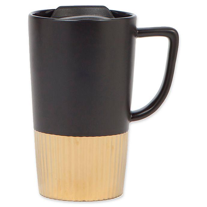 Go Bed And Bath: Manna™ 16 Oz. Cafeol Ceramic To Go Mug