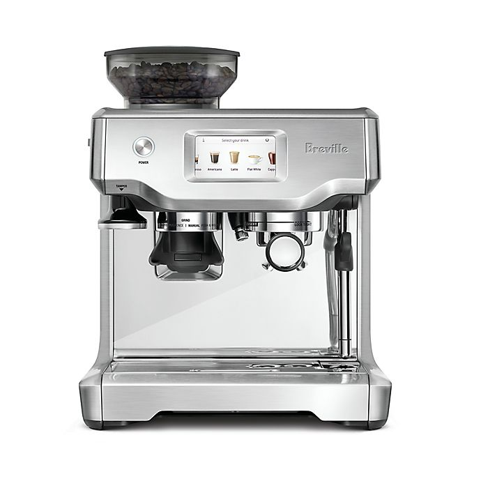 Alternate image 1 for Breville® Barista Touch Espresso Machine with Grinder in Silver