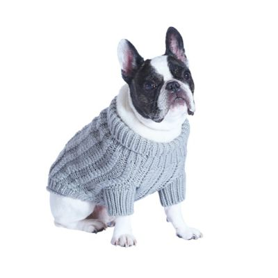 Ugg 174 Pet Cable Knit Sweater In Grey Bed Bath Amp Beyond