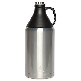Manna™ 64 oz. Apex Stainless Steel Insulated Growler with Detachable Cone Cup