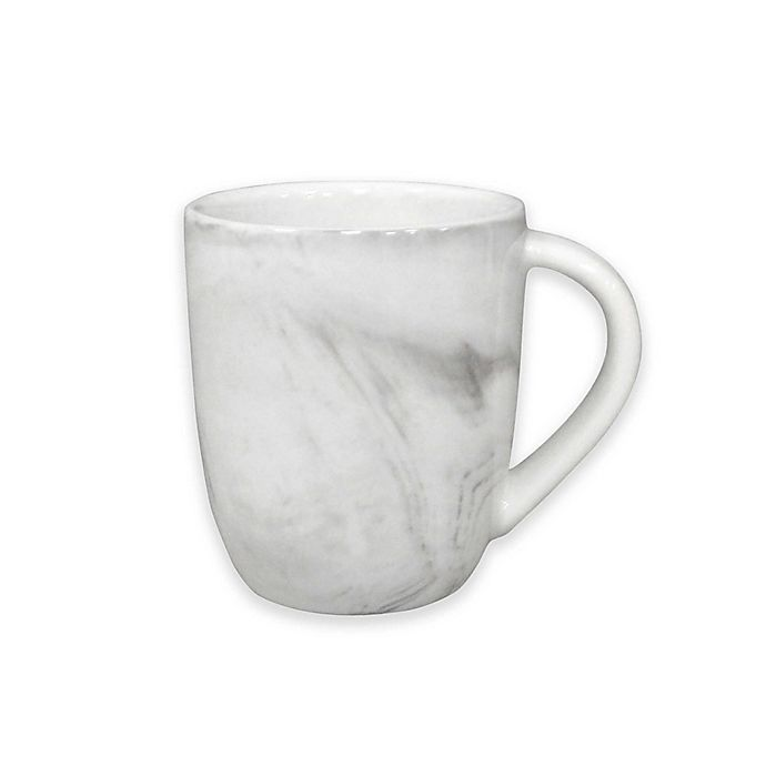Alternate image 1 for Artisanal Kitchen Supply® Coupe Marbleized Espresso Mugs (Set of 4)