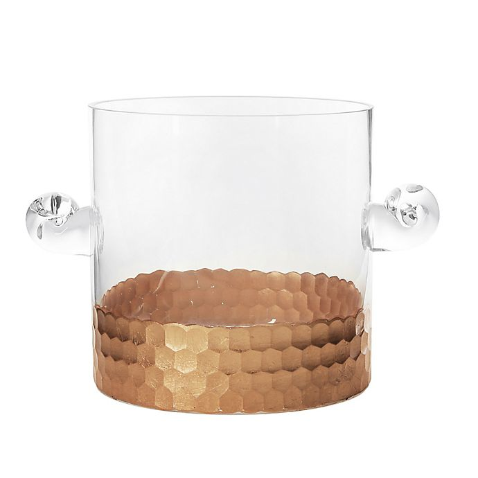 Alternate image 1 for Fitz and Floyd® Daphne Ice Bucket in Copper