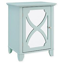 Linon Home Cabinet with Mirror Door