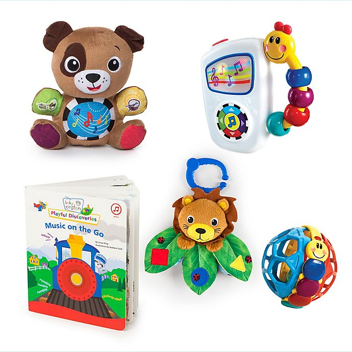 Alternate image 1 for Baby Einstein™ Discovering Music Gift Set