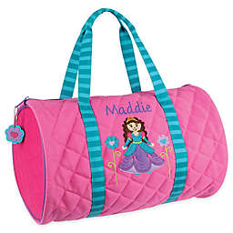 Stephen Joseph® Princess Quilted Duffle Bag in Pink