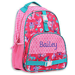 Stephen Joseph® Princess All Over Print Sidekick Backpack in Pink