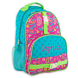 Stephen Joseph® Paisley All Over Print Sidekick Backpack in Purple