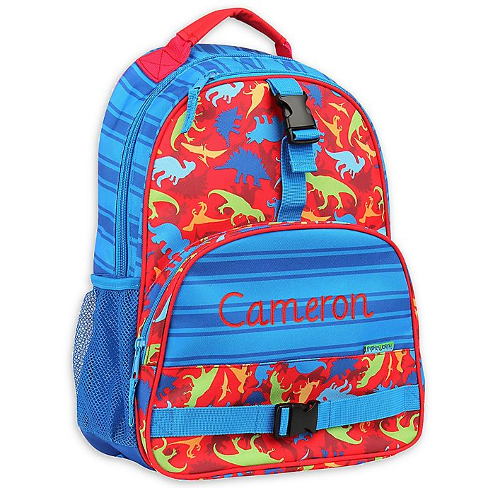 ab004bcfac39 Stephen Joseph® Dino All Over Print Sidekick Backpack in Red | Bed ...