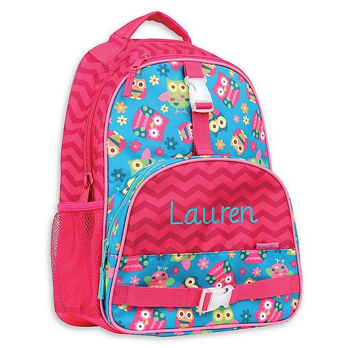 ed94e7713264 Stephen Joseph® Owl All Over Print Sidekick Backpack in Blue