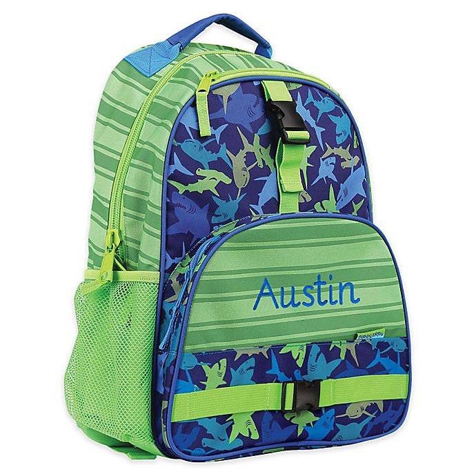 aff7403f8d2c Stephen Joseph® All Over Print Shark Backpack | buybuy BABY
