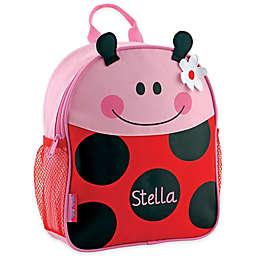 Stephen Joseph All Over Print Mini Backpack in Ladybug Red