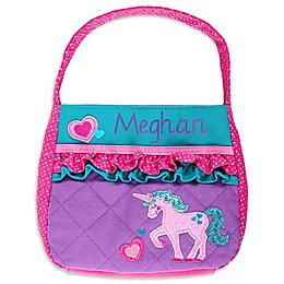 Stephen Joseph® Unicorn Quilted Purse in Purple