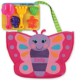 Stephen Joseph® Butterfly Beach Tote in Pink