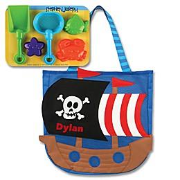 Stephen Joseph® Pirate Beach Tote with Sand Toys