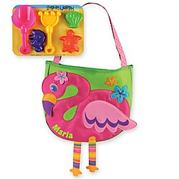 Stephen Joseph® Flamingo Beach Tote with Sand Toys