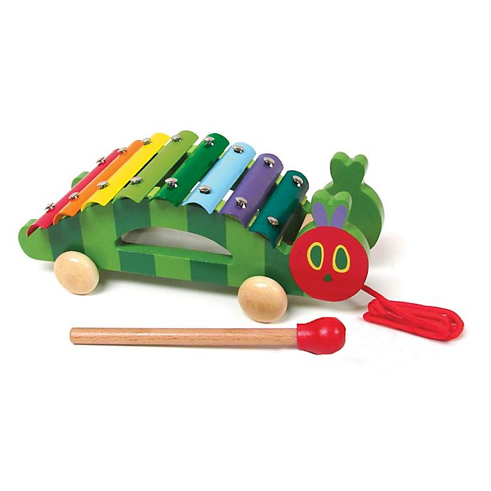 Alternate image 1 for Eric Carle™ Pull Along Xylophone