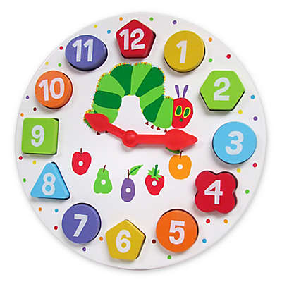 Eric Carle™ Wood Teaching Clock